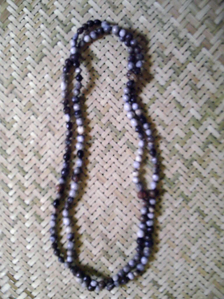 Cuello 2 vueltas en semillas de L�grima de Trabajo, de  L�grima de Notre Dame, Coix