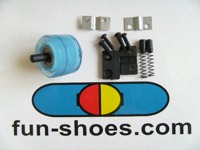 Accessories, spare parts& wheels to change & replace the wheels from the heel of the fun-shoes