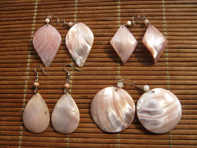 grande variété de modèles magasin comment avoir Boucles d'oreilles du brésil en noix de coco, piassava, bois ...