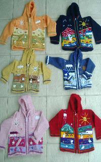 pull péruvien pour bébé et enfants