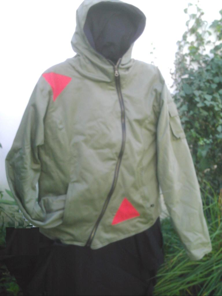 Space jacket from Nepal with polar inside